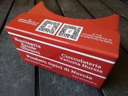 cardboard norcineria cioccolateria gratuita