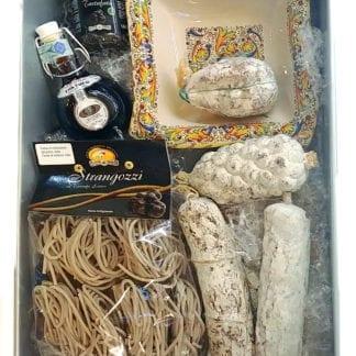 Scatola regalo di Norcia con salumi e tartufi (art.5)
